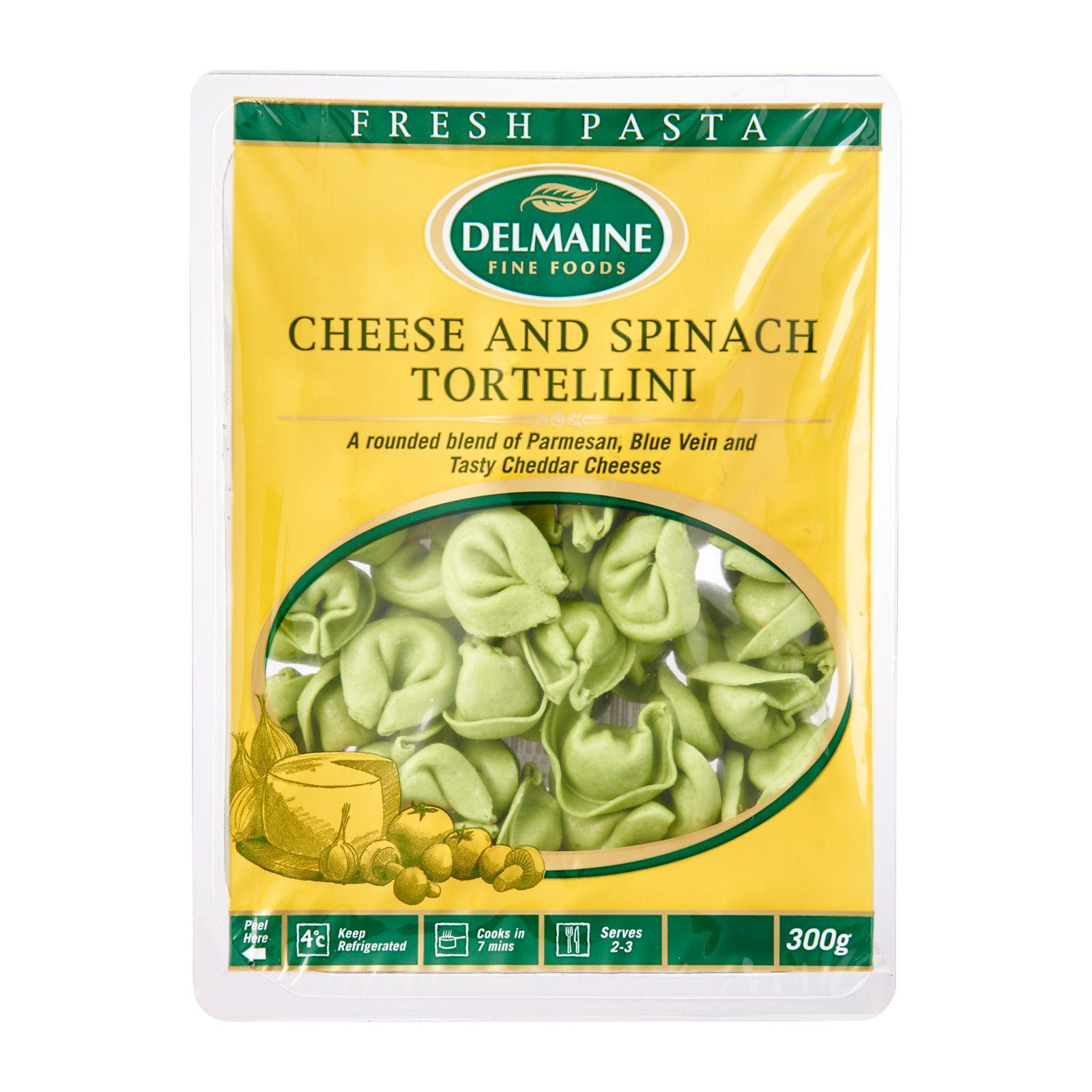 Delmaine Cheese And Spinach Tortellini Filled Pasta By Redmart.