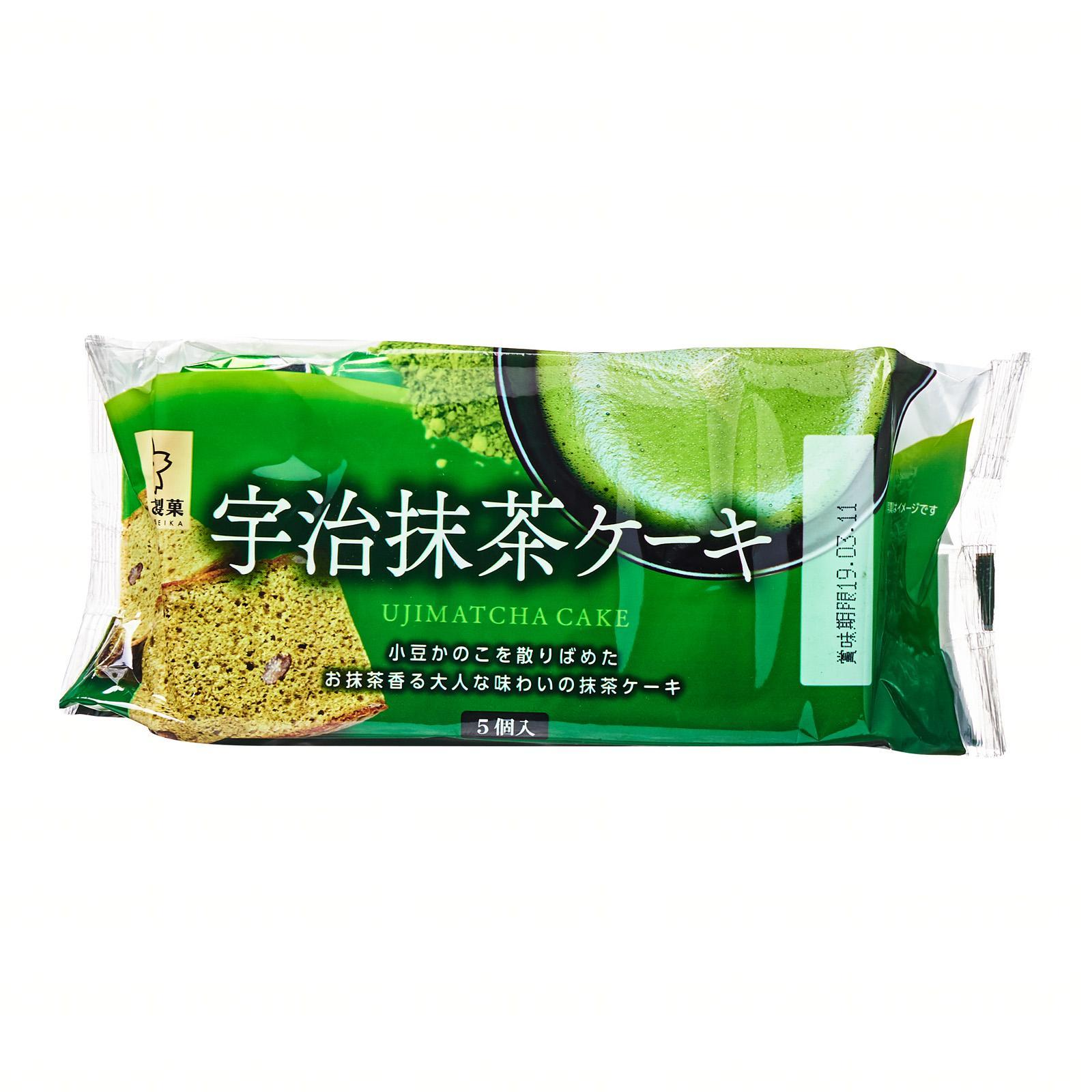 Sunlavieen Uji Matcha Green Tea Cake - Jetro Special