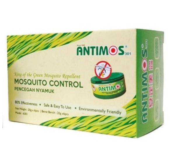 Antimos Effective Mosquitoes Control | Halal Certified | SG Local Stock