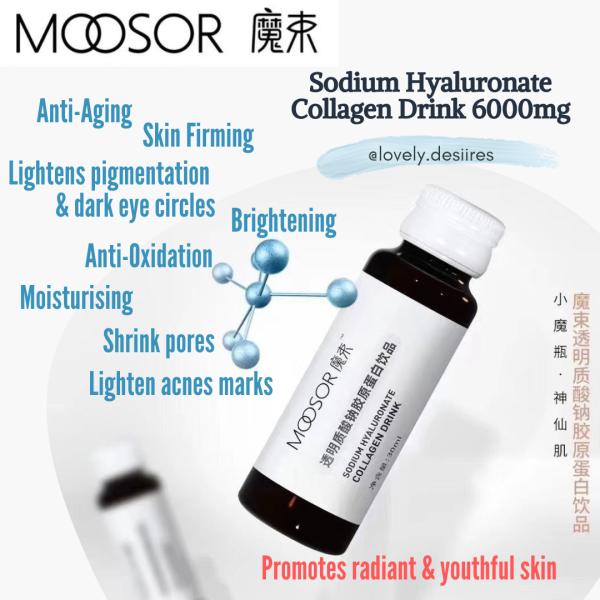 Buy SAVE $30! ♥FreeGifts♥ Moosor 6000MG Collagen Drink: Brightening / Firming / Radiant / Halal Singapore