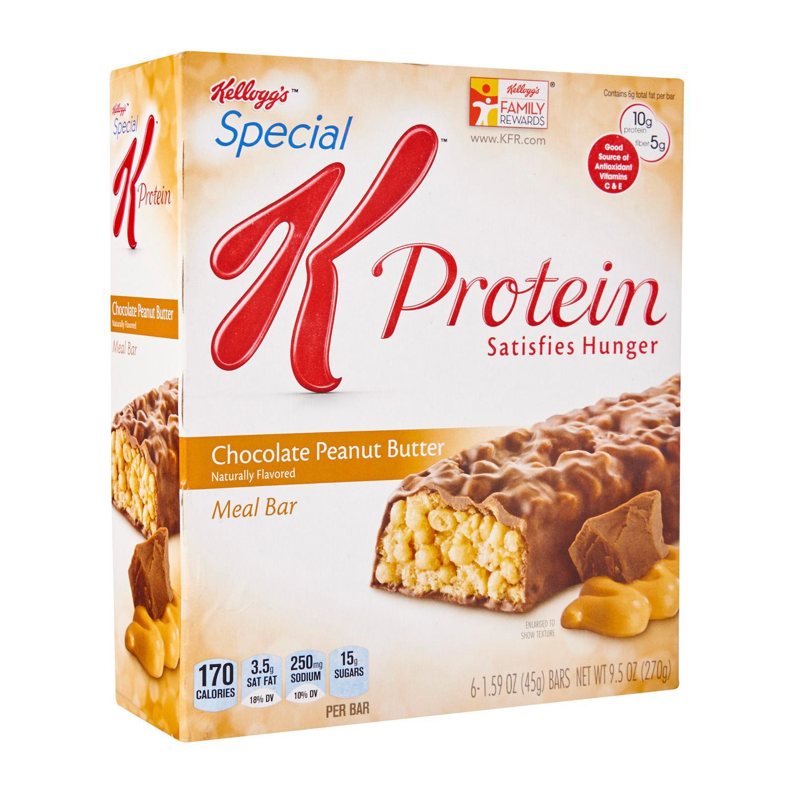 Kellogg's Special K Chocolate Peanut Butter Protein Meal Bars