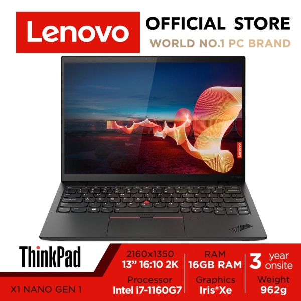 Lenovo ThinkPad X1 Nano Gen 1 | 13.3inch 2K 450nits | i7-1160G7 | 16GB RAM | 512GB SSD | Intel Xe Graphics | 3Y Warranty
