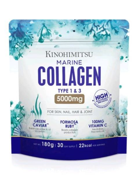 Buy Kinohimitsu Marine Collagen 5000mg (1 Month Supply) Singapore