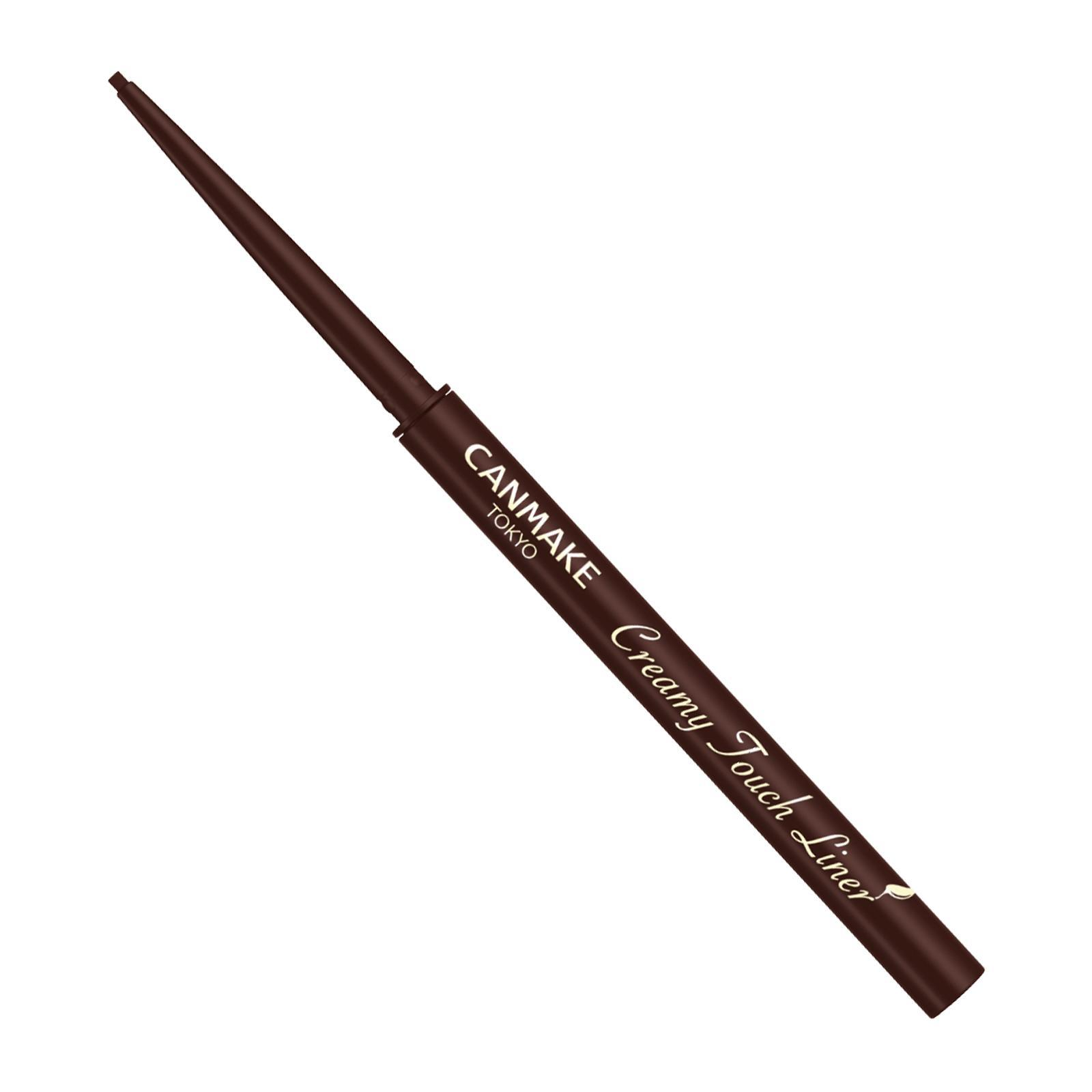 Canmake Creamy Touch Liner [03]Dark Brown