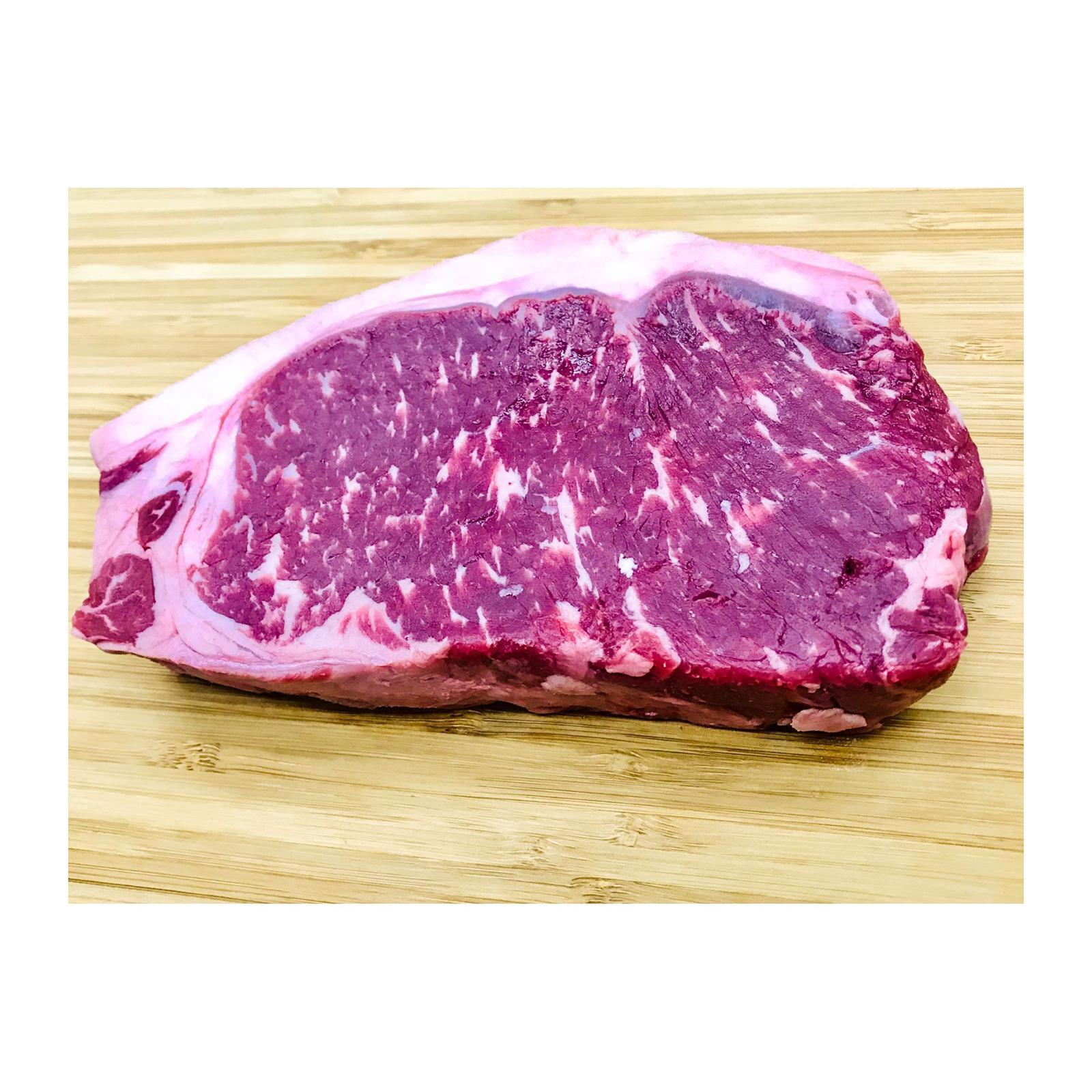 Master Grocer USA Certified Angus Beef Striploin Steak