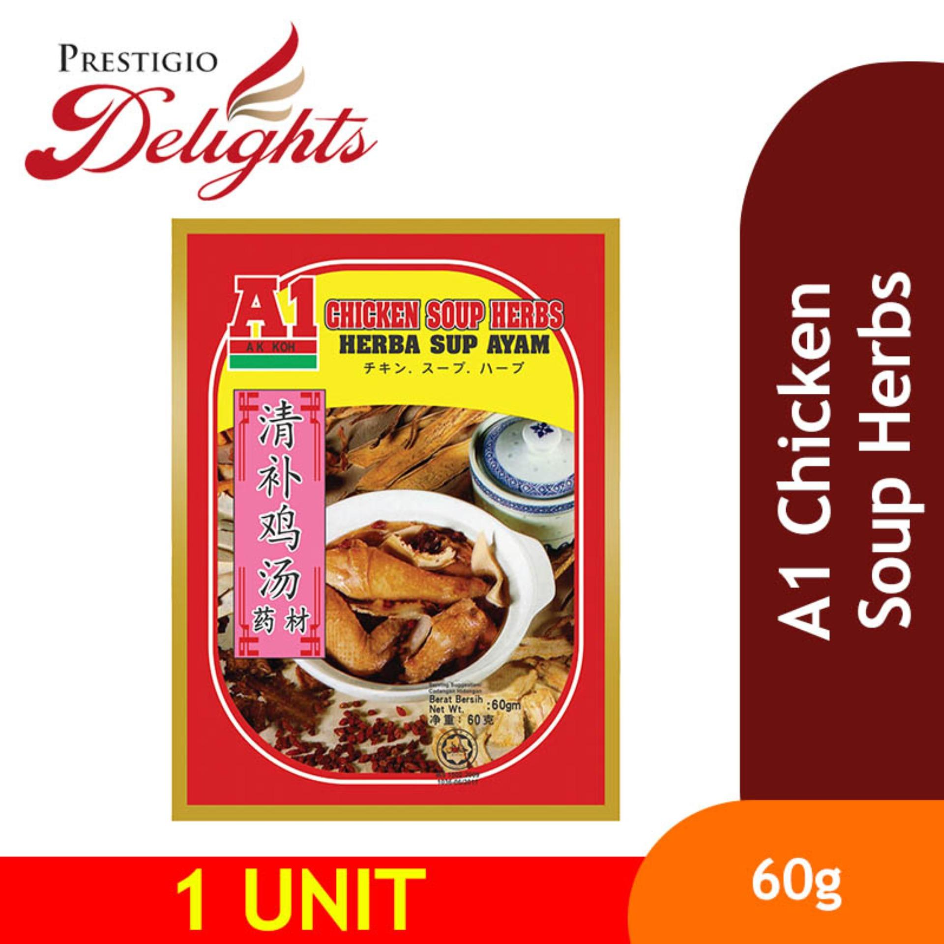 A1 Chicken Soup Herbs 60g By Prestigio Delights.