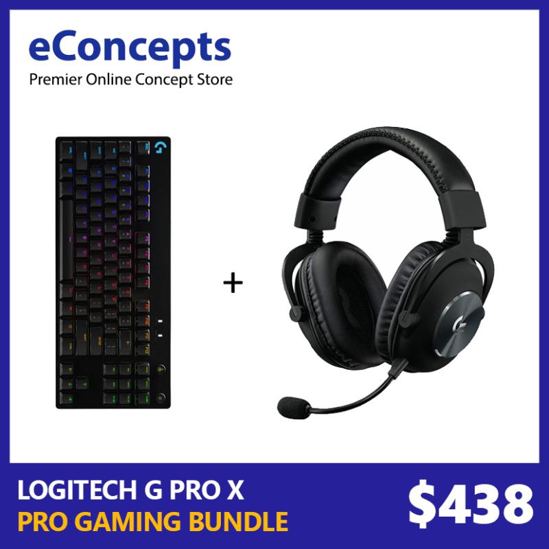 Logitech G Pro X Keyboard + G Pro X Headset Bundle Singapore