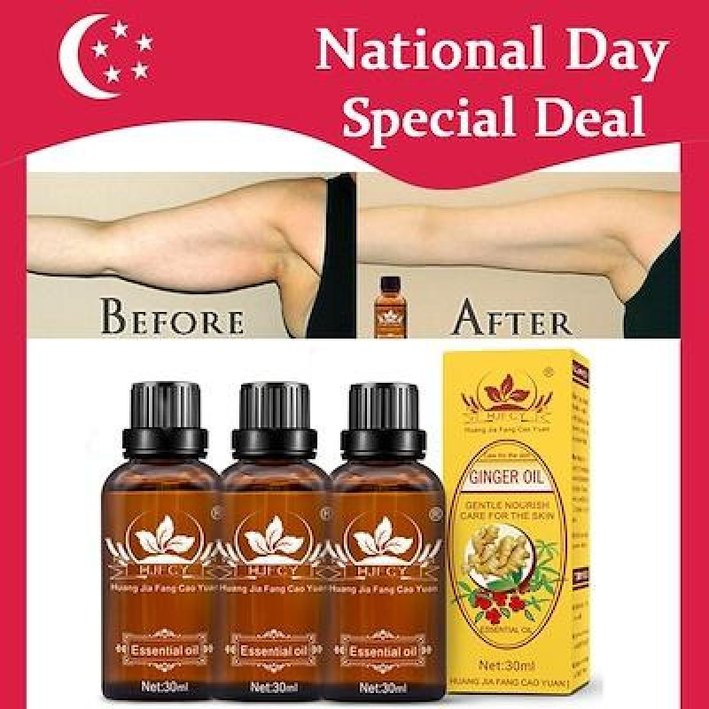 Buy 100% Pure Natural Lymphatic Drainage Ginger OilSPA Massage OilsRepelling Cold and Relaxing Active Singapore