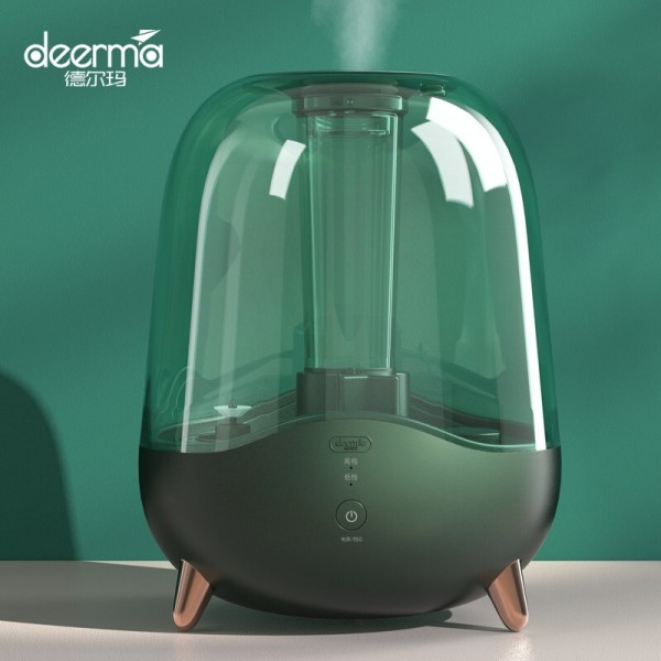 Deerma DEM-F329 /F329 Humidifier/ 5L High Capacity/ Transparent Water Tank/ 3-PIN SG Plug with Safety Mark Singapore