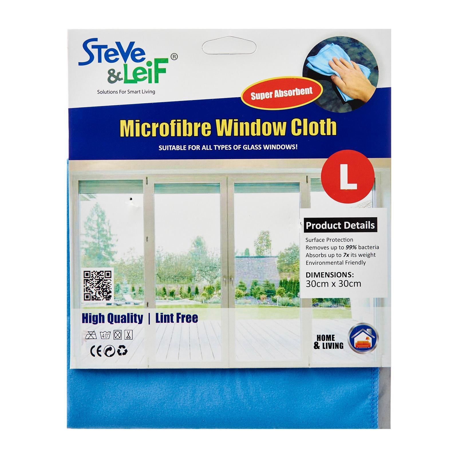 Steve & Leif Microfiber Window Cleaning Cloth