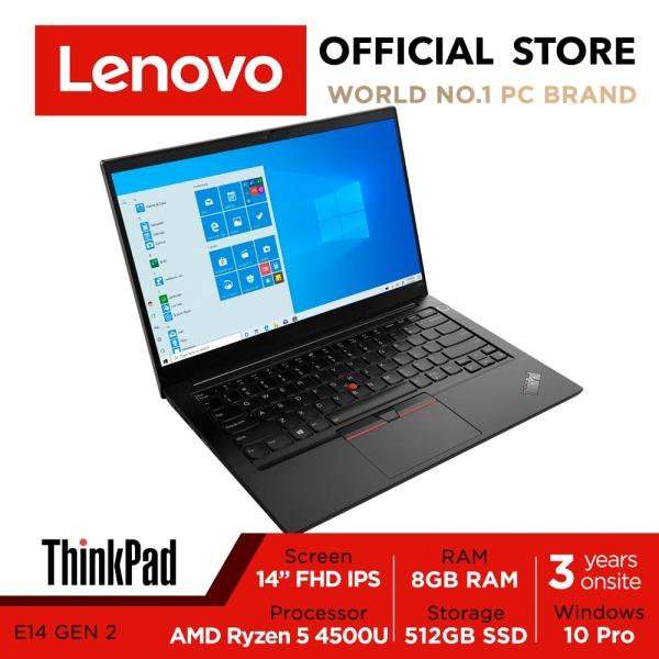 [Free 3Years Onsite] Lenovo ThinkPad E14 | 20T6S0WJ00 | 14inch FHD IPS | Ryzen 5 4500U | 8GB RAM | 512GB SSD | 3Yrs Onsite warranty
