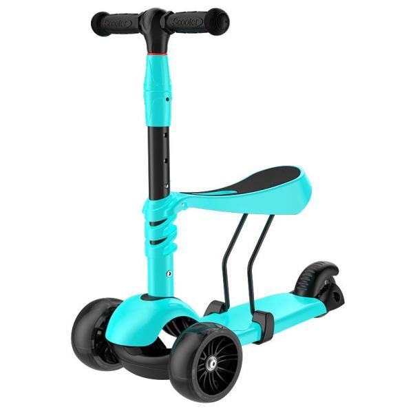 Mua Xq Trẻ Em Xe Trượt Scooter Trẻ Em Có Thể Ngồi 3-Bánh Xe 3 Trong 1 Xe Scooter