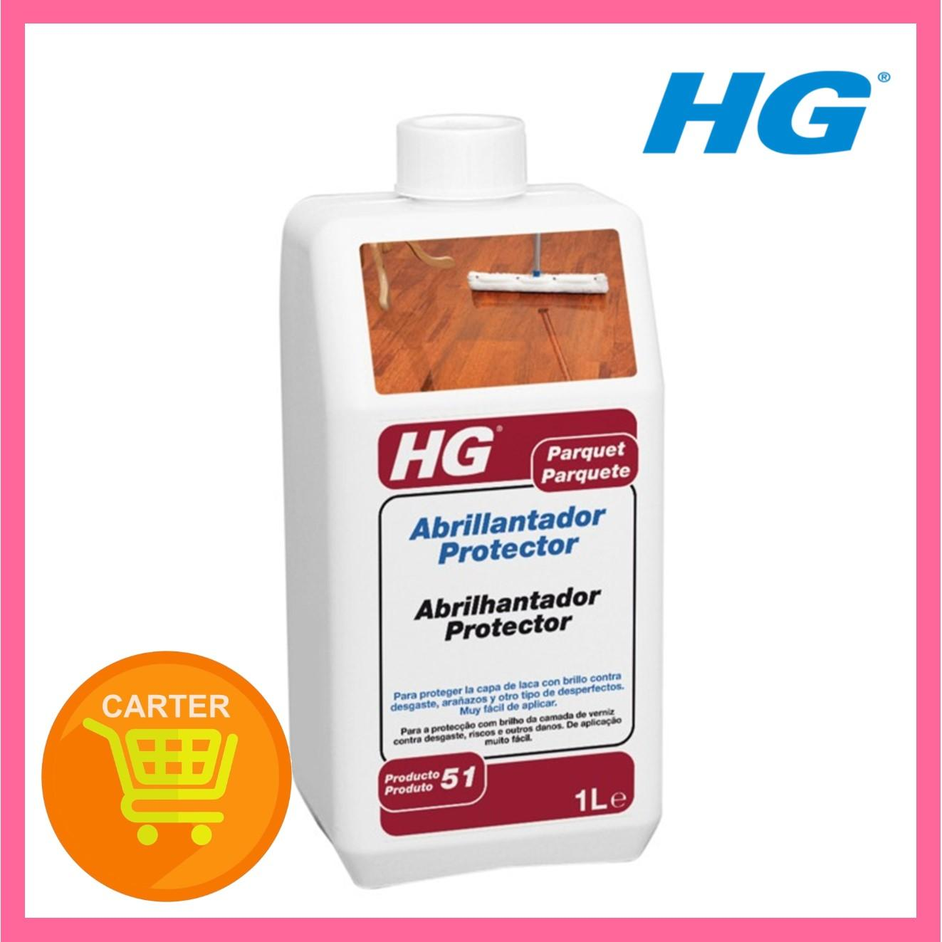 HG PARQUET P.E POLISH PROTECTIVE COATING 1L - HG200