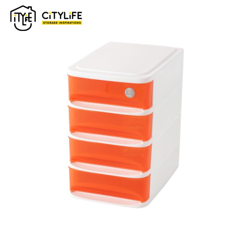 Citylife 4 Tier Mini Drawer