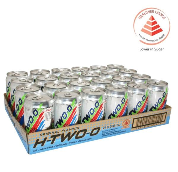Buy H-TWO-O Original Isotonic Drink - Case Singapore