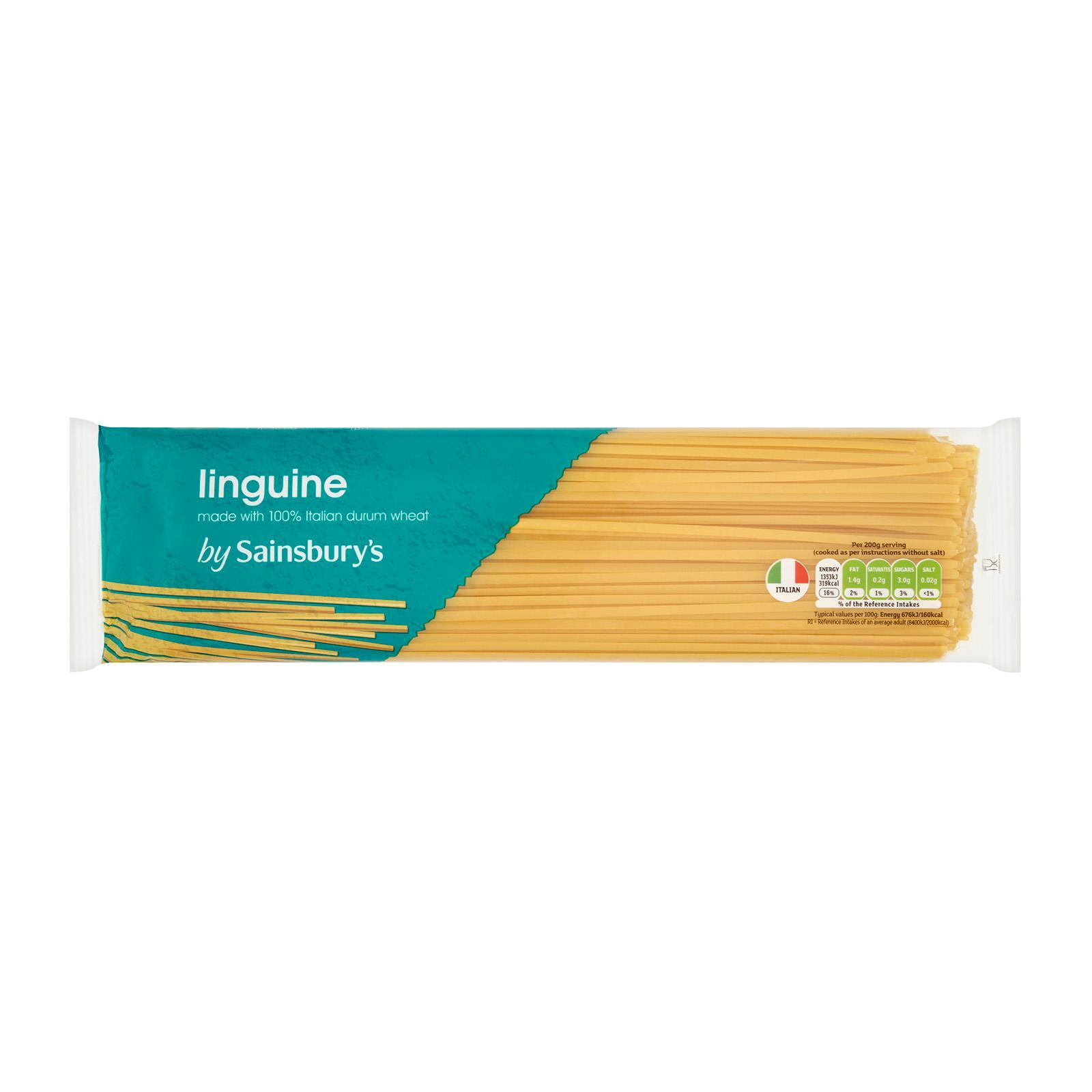 Sainsburys Linguine By Redmart.