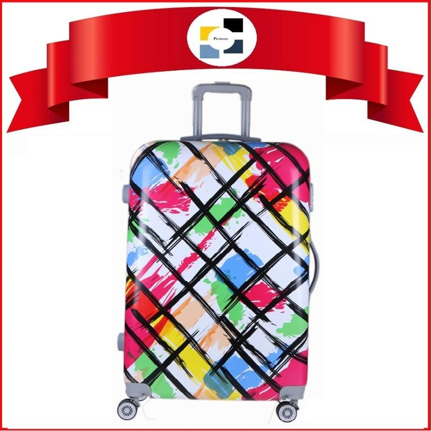 Luggage. Polo City.Check In 28. Hard Case. 4 Wheel Movement. Comes with inline lock system. Local SG Seller. Design: Colour Splash - 030