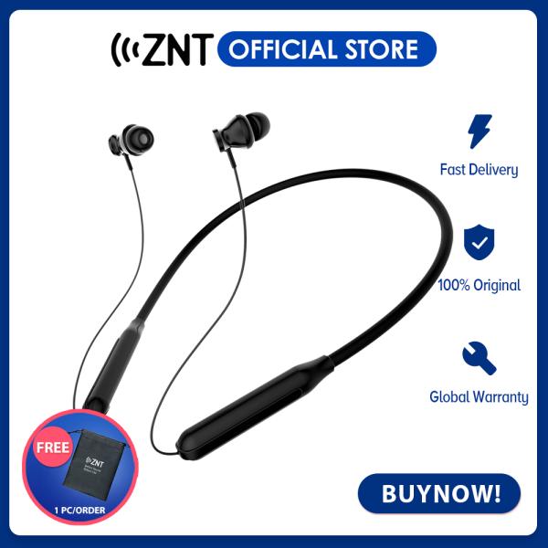 ZNT H8 II Wireless Bluetooth Earphone Sport Earphone with Mic,Deep Bass,15h Playtime,Magnetic Design Singapore