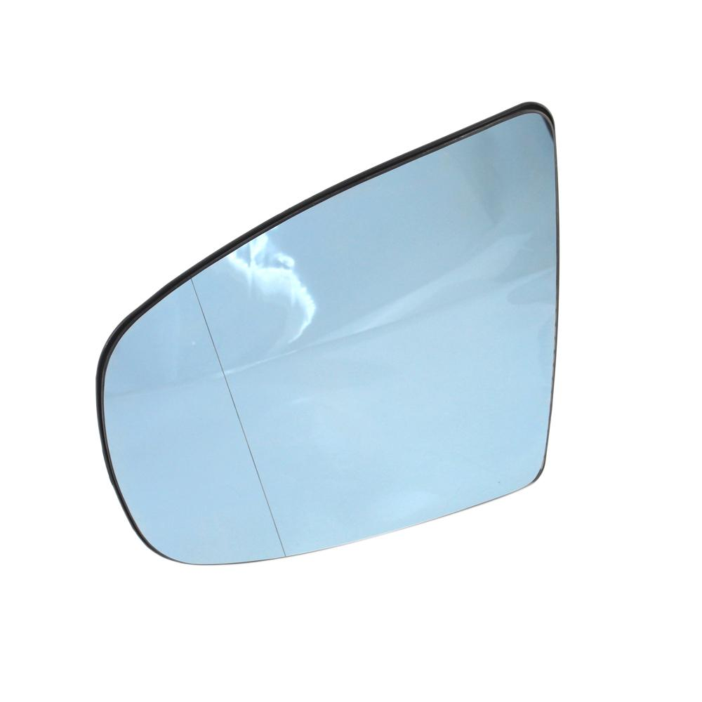 Automobile heating inverted mirror aspheric side rearview mirror suitable for 08-13 years BMW E70 E71 E72 X6 X5 51167174982 blue