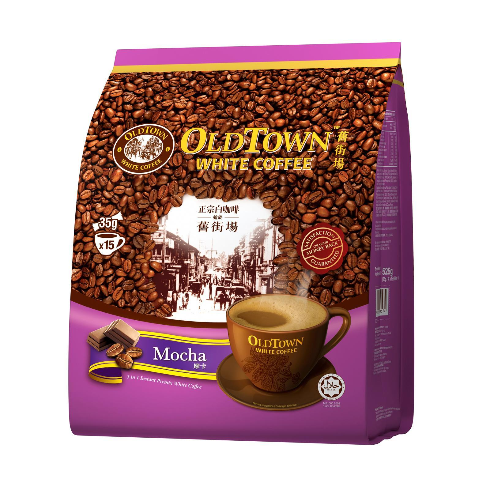 OLD TOWN White Coffee 3 in 1 Mocha 15sX35g