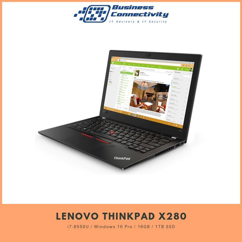 Lenovo Thinkpad X280 i7-8550U / Windows 10 Pro / 16GB / 1TB SSD