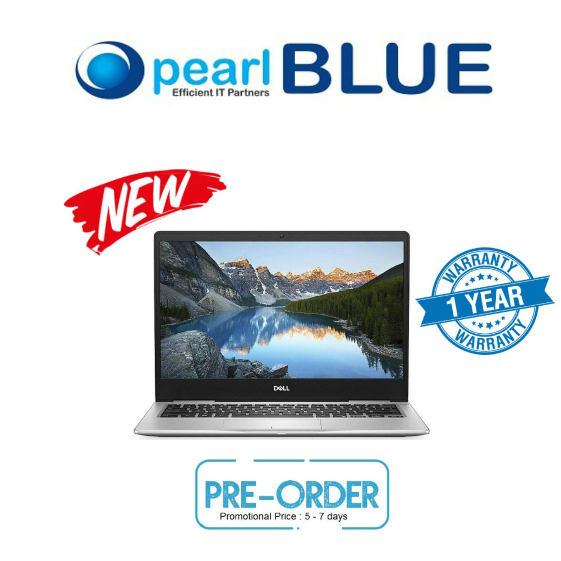Dell Inspiron 13 7380 -i7-8565 8GB 256SSD  With narrow borders offering expansive onscreen views
