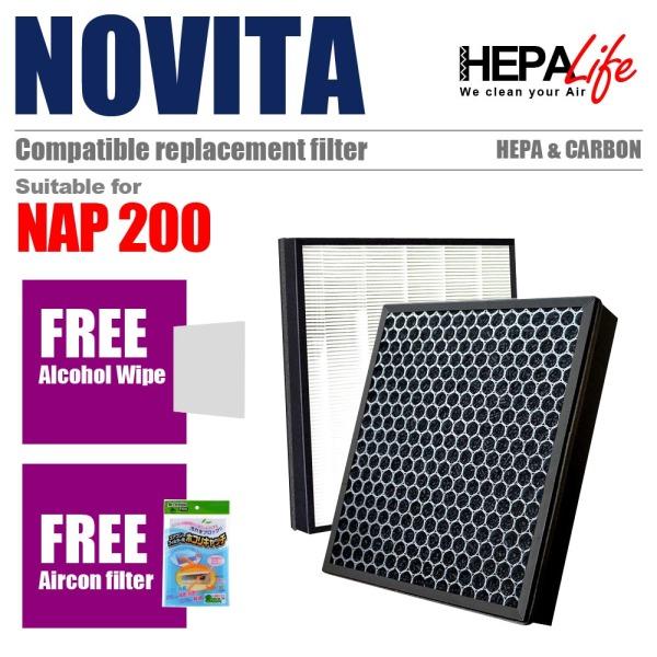 NOVITA NAP200 Compatible Hepa Filter - Hepalife Singapore