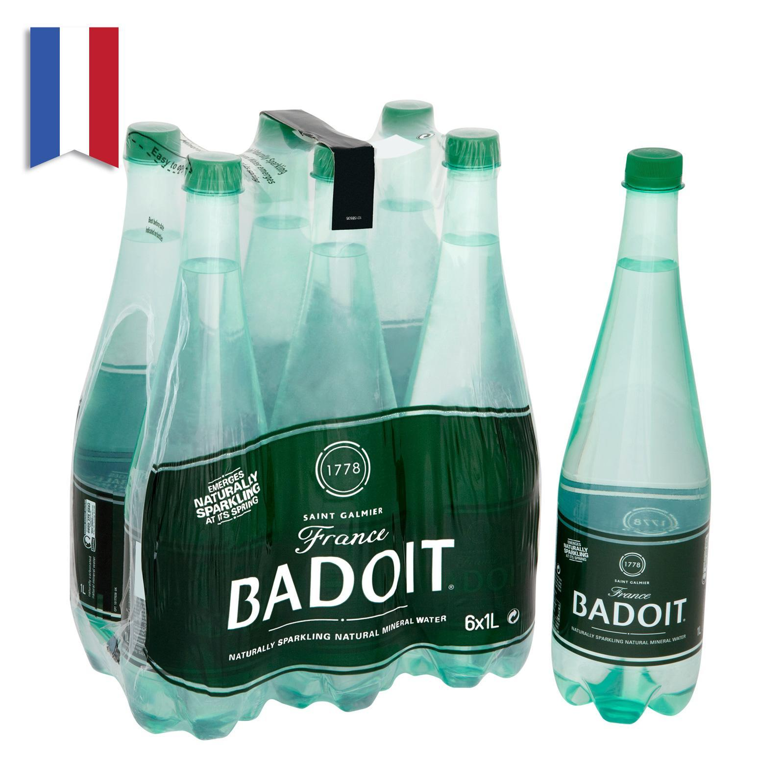 Badoit Sparkling Natural Mineral Water Case By Redmart.