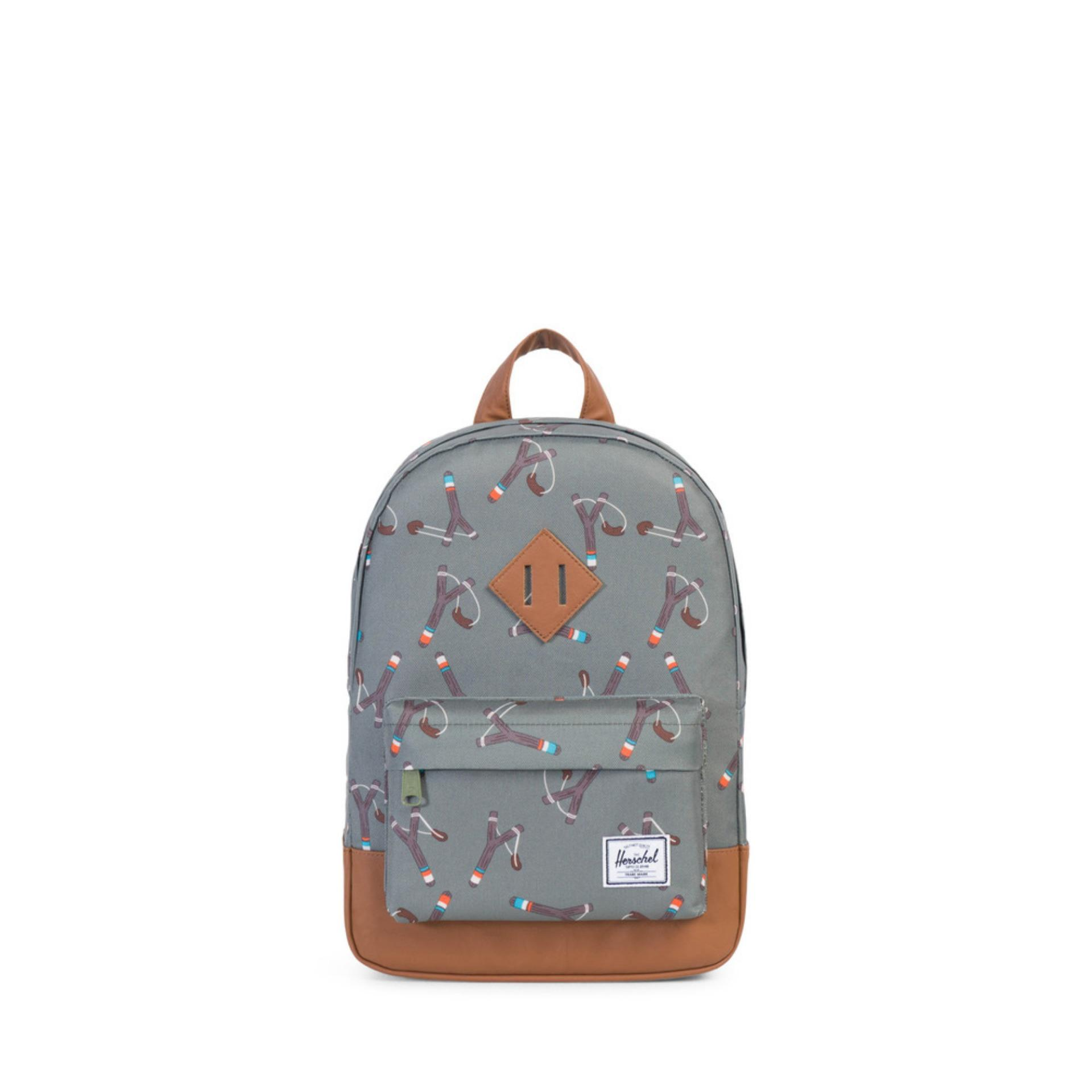 HERSCHEL HERITAGE K - Sticks & Stones/Tan Synthetic Leather