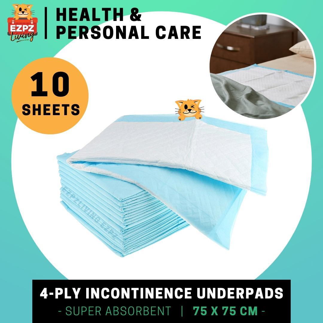 Joycare 4-Ply Incontinence Underpads, 75 X 75 Cm - Babies, Senior & Pets By Ezpz Living.