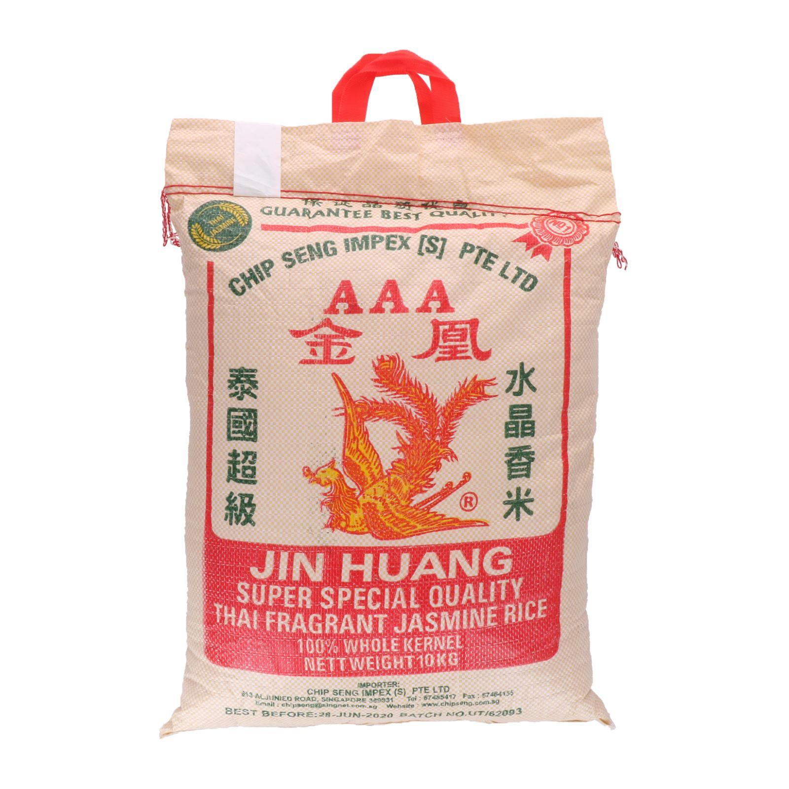 Jin Huang AAA Thai Fragrant Rice