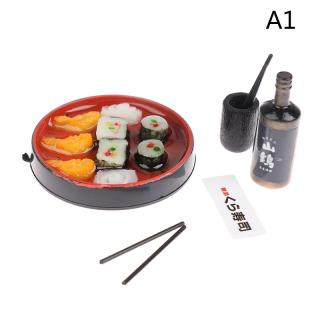 Nhà Búp Bê KINY, Janpanese Thu Nhỏ Cơm Sushi, Để Trang Trí Nhà Búp Bê Thực Phẩm Giả Vờ thumbnail