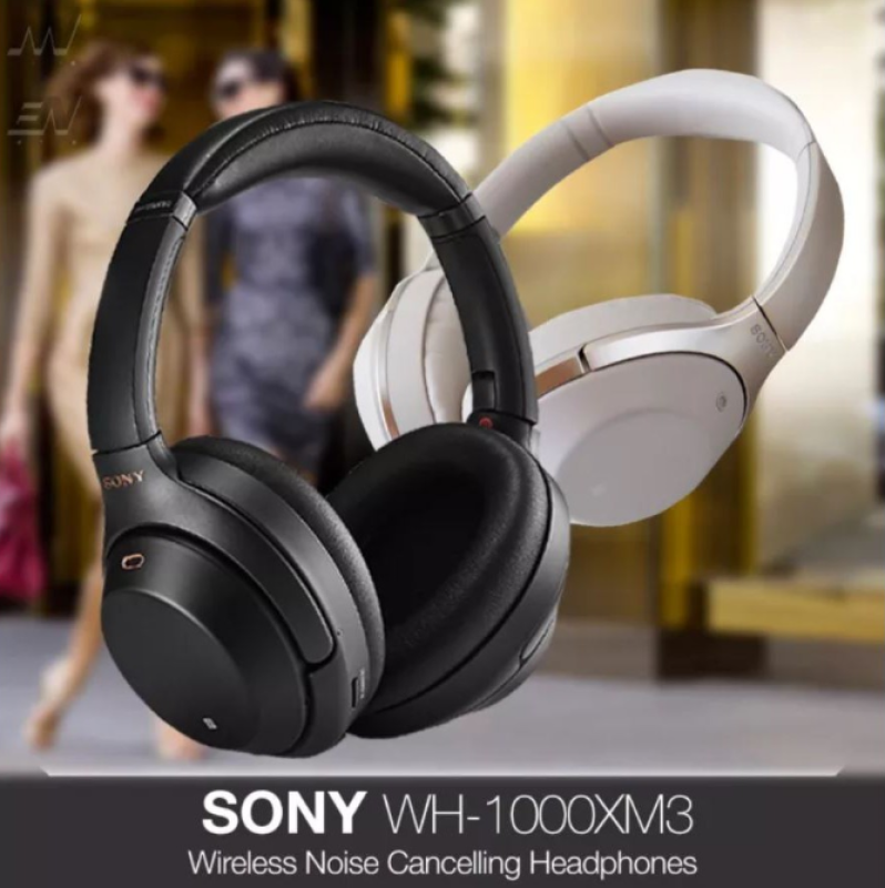 Sony WH-1000XM3 Bluetooth Over-Ear Noise Cancelling Headphones (1 YEAR LOCAL WARRANTY) Singapore