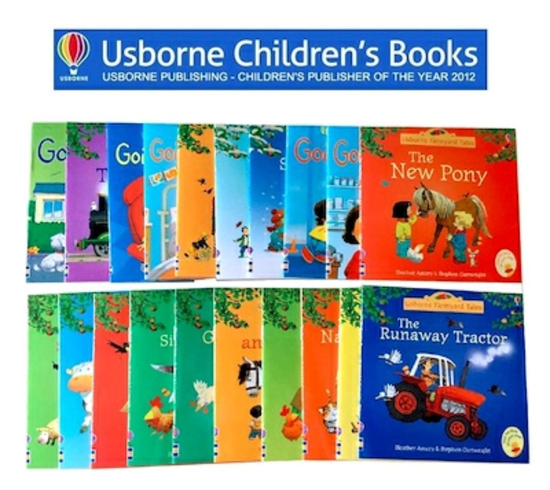 Usborne Farmyard Tales Story Books/children/preschooler Education Books/story Books By Kazialand Shop.