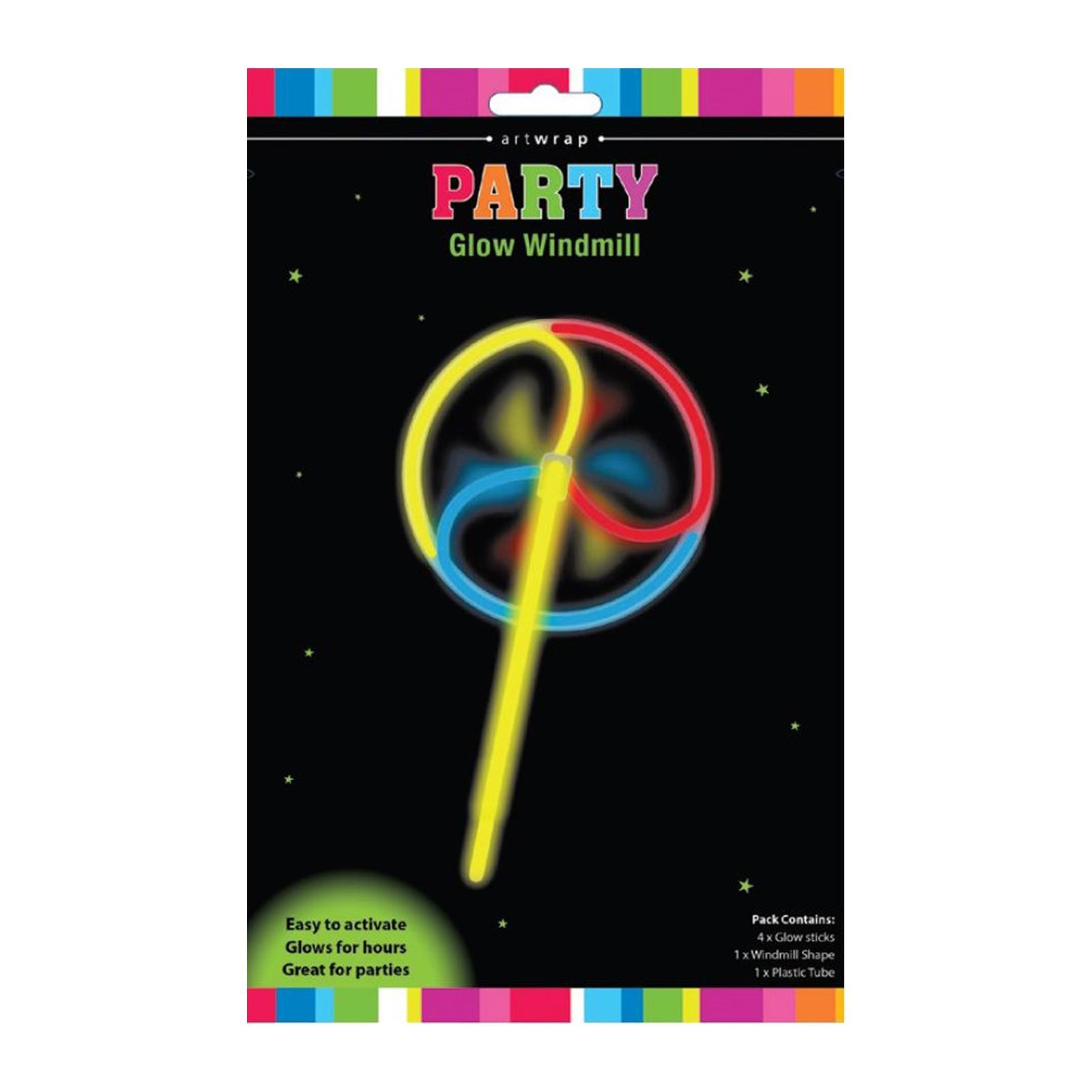 Artwrap Party Glow Windmill