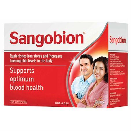 Sangobion Capules 28 Caps/box By The Dental Pharm.