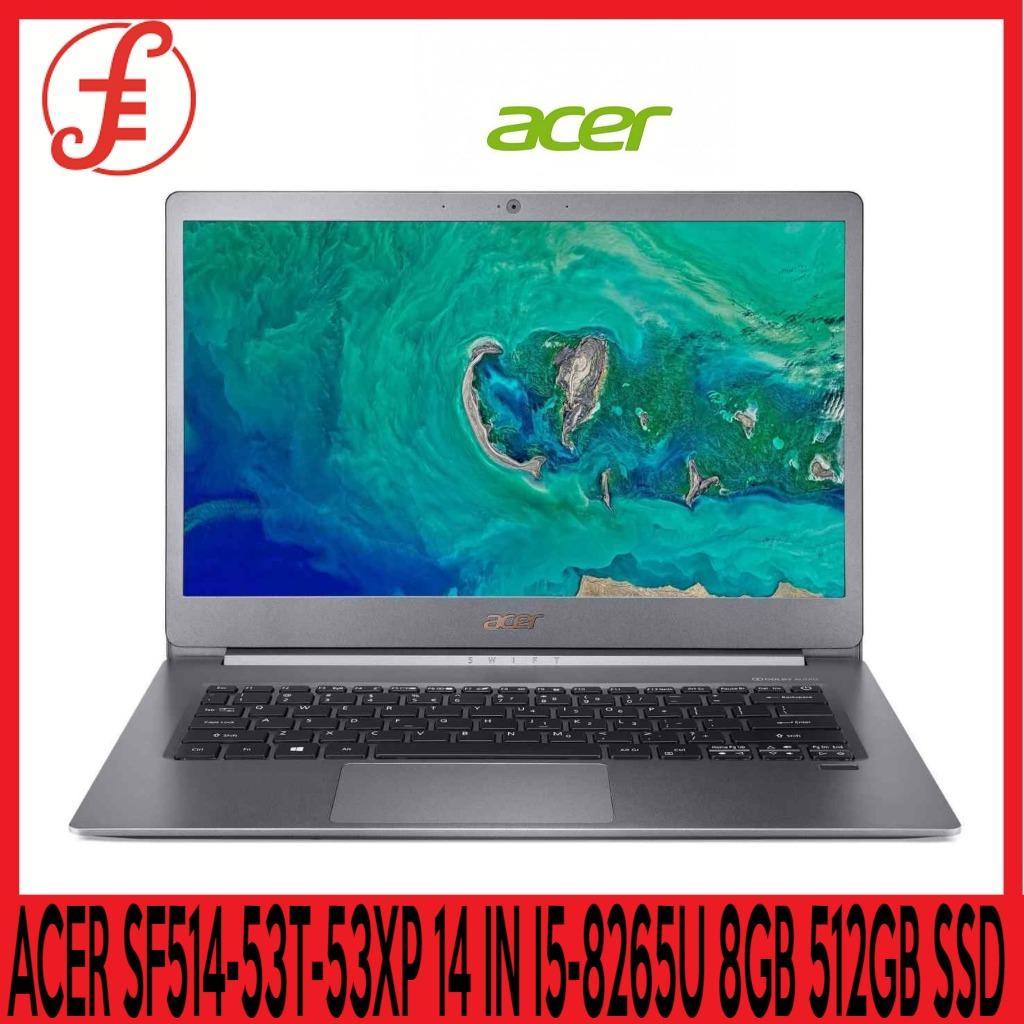 ACER SF514-53T-53XP 14 IN INTEL CORE I5-8265U 8GB 512GB SSD WIN 10 (sf514-53t-53xp)