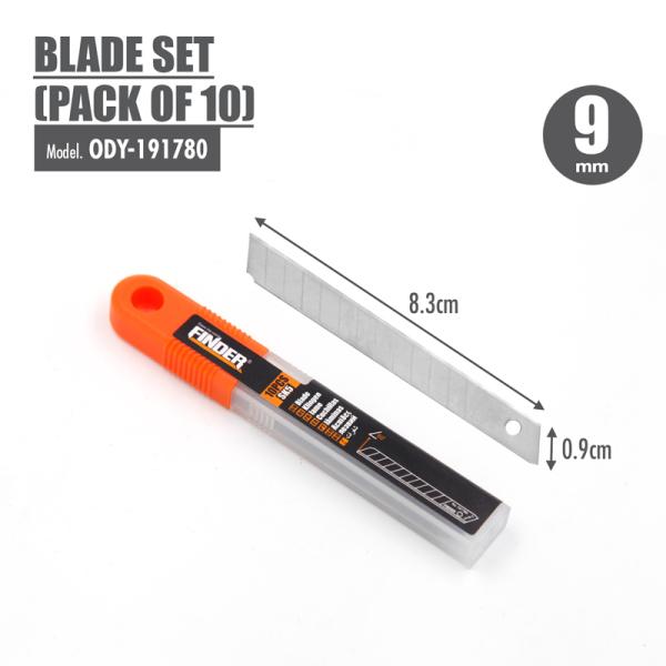 FINDER - Blade Set (Pack of 10) (9mm)