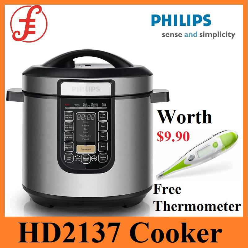 Philips Hd2137/62 Viva Collection All-In-One Cooker + Free Gift! By Fepl.