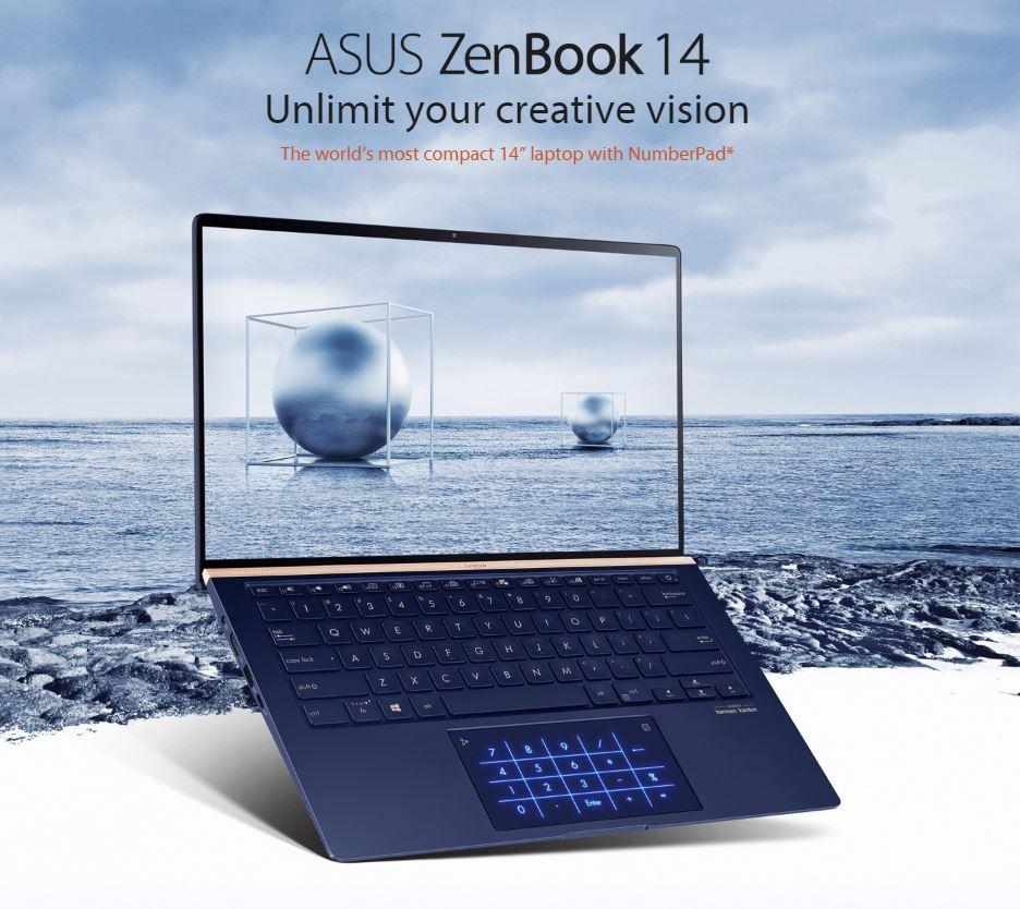 (Latest Model) ASUS Zenbook UX433FLC-A5486T 14.0 FHD Screen, i7-10510U, 16GB Ram, 1TB SSD