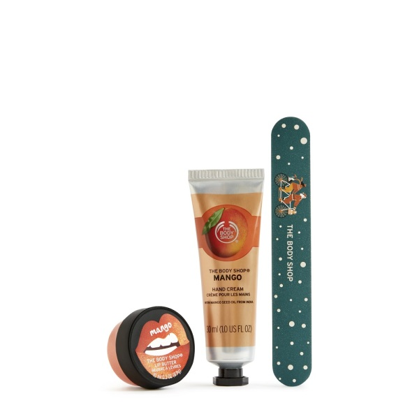 Buy The Body Shop Sweetening Mango Lips, Hands & Nails Kit (Limited Edition Set) Singapore