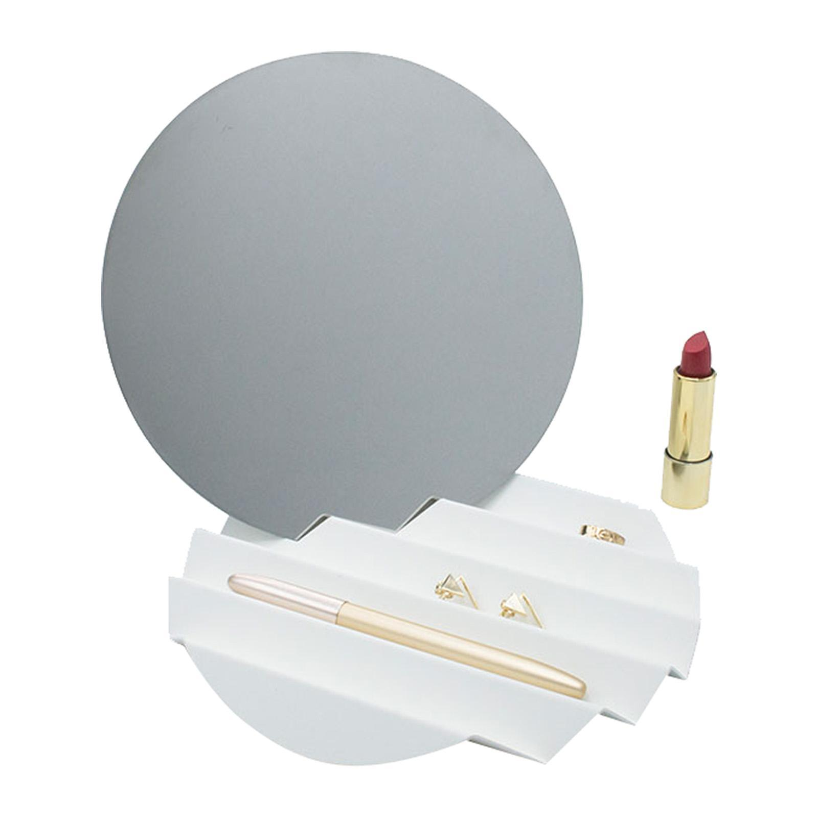 Moreover Summer Sunset Mirror And Accessory Tray (White)