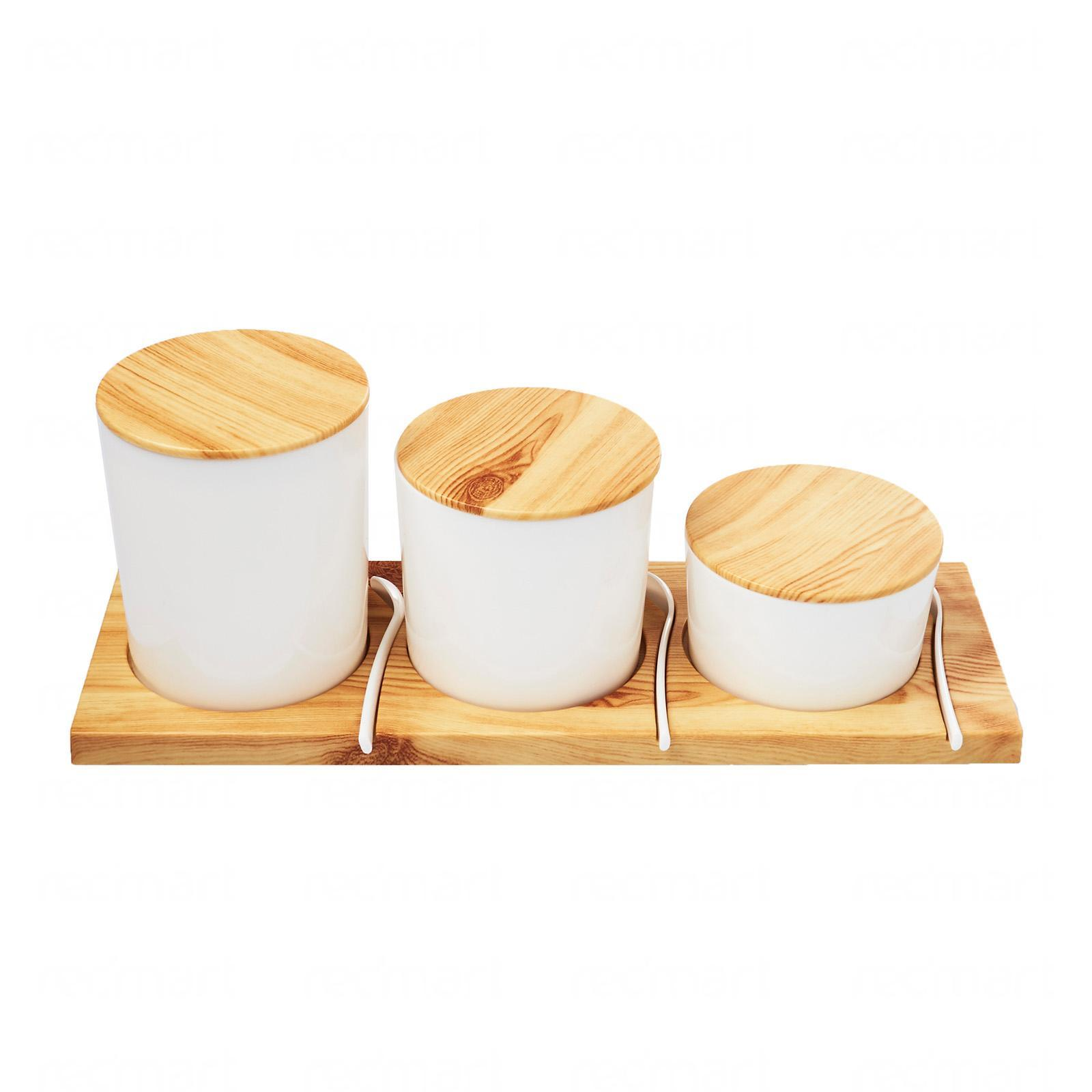 Mason Market Condiment Containers - Set of 3