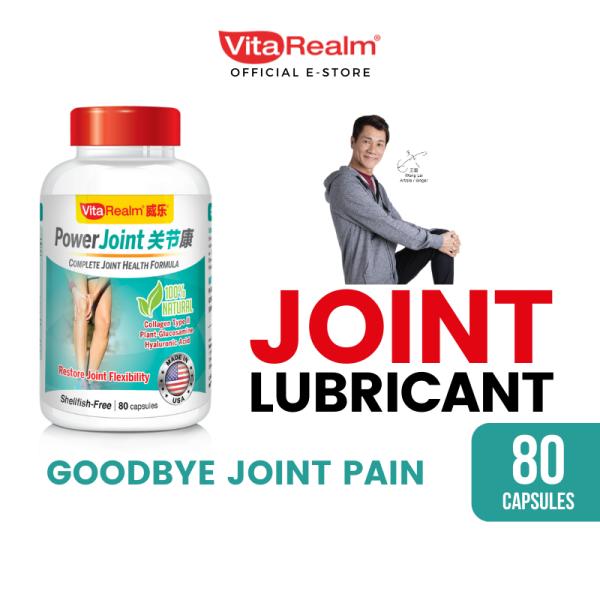 Buy VitaRealm PowerJoint 80 capsules Singapore