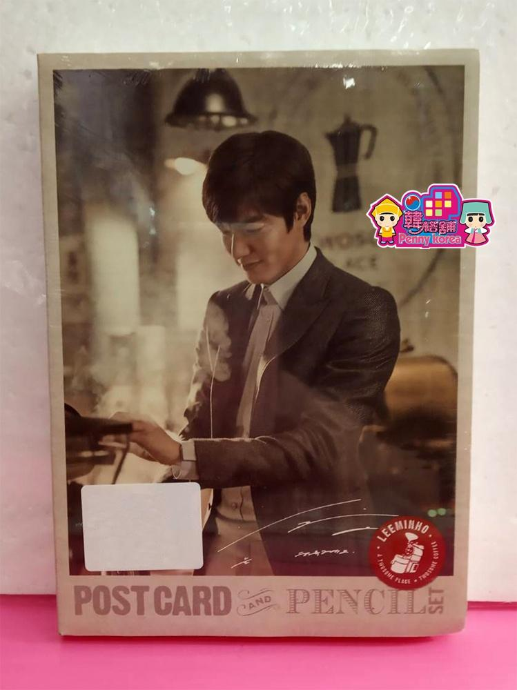 LeeMinHo [ Official Postcard+Pencil Set ] Kpop <PennyKorea>Minoz  Korean drama The King:永远的君主 李敏镐 [ 官方明信片组 + 铅笔 组]