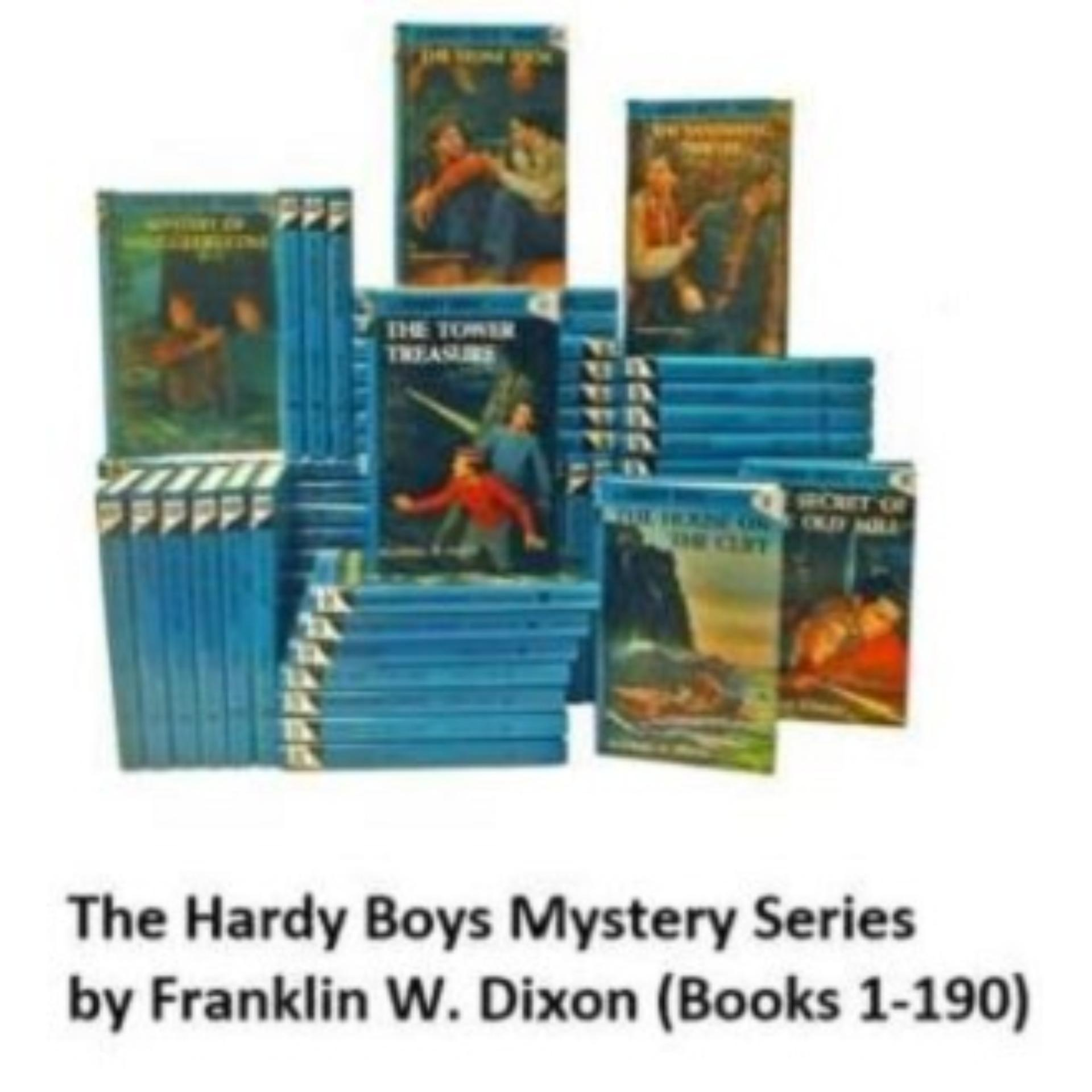 The Hardy Boys Mystery Series 1-190 by Franklin W. Dixon eBooks (Epub)