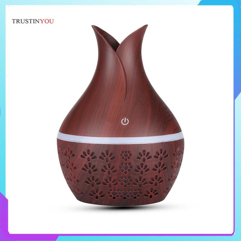 300ml Ultrasonic Humidifier USB Aromatherapy Diffuser Essential Oil Mist Maker Humidifier Singapore