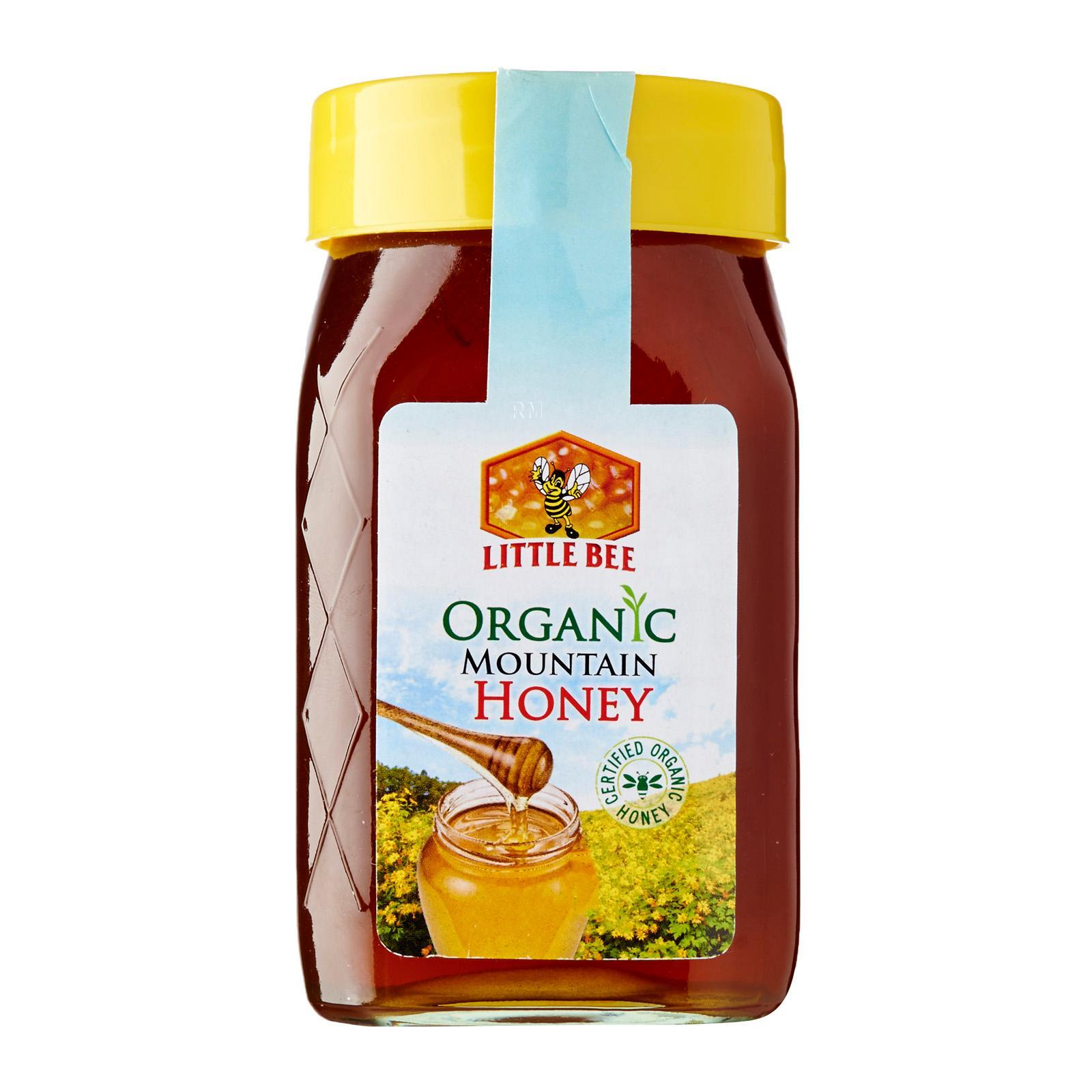 Little Bee Certified Organic Mountain Wild Honey