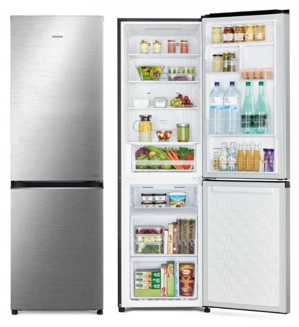 *just Launched* Hitachi R-B410p6ms New Stylish Bottom Freezer Inverter Fridge 330l With Free Vacuum Container Gift Set (worth $99).