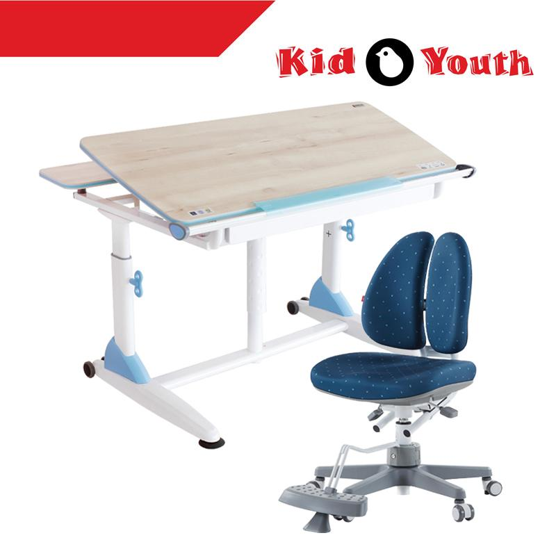 G2+S Kid2Youth Study Table and DUO Study Chair Set